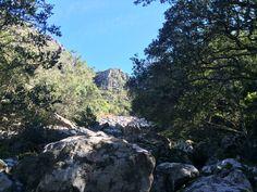 Boulder slide