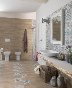 Scopri le esclusive serie per il rivestimento del tuo bagno di Leroy Merlin