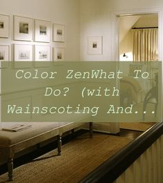 Color ZenWhat to do? (with wainscoting and chair rails) - Color Zen | What Is Wainscoting | Wood Paneling Ideas | Shiplap Paneling | Wall Panel Ideas Cheap. #woodpanel #Paint colors Shiplap Paneling, Paneling Ideas, Painting Wood Paneling, Wainscoting, Wood Panel Walls, Wood Wall, Paneling Makeover, Small Garage, Beginner Woodworking Projects