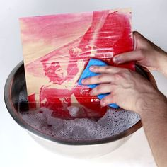 How to Print a Photo on Wood With Inkodye... I really want to try this. Probably when i am home soon.