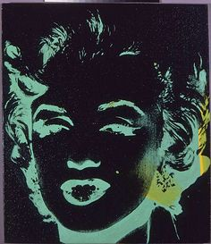 'Marilyn Reversal' von Andy Warhol (1928-1987, United States)