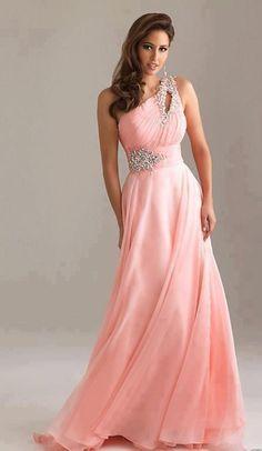 Robe de soirée_rose
