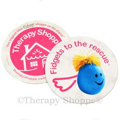 The perfect holiday gift for your favorite occupational therapist, teacher, therapist, or fidgeter! You'll love our exclusive Therapy Shoppe® specialty coasters that come in 3 fun styles (see below for the other options). Made of all-natural materials, these inexpensive, environmentally-friendly coasters also make a fun addition for office bulletin boards and therapy or sensory room doors.