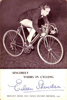 Eileen Sheridan, broke all 21 of the records of the Women's Road Records Association during the late 1940s and 1950s by large margins. Five have yet to be beaten, including the London-Edinburgh record of 20h 11m 35s, set in 1954. Her 1,000-mile record of 3 days and 1 hour stood for 48 years until it was broken in 2002 by Lynne Taylor.