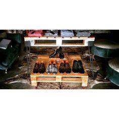 mesa de pallets y hierro