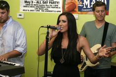 """The 5 Days of Cinco: Thursday, May 2 """"MEGAN MILLER BAND"""""""