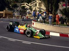 Johnny Herbert, Benetton B188 - Ford-Cosworth DFR 3.5 V8 (Monaco 1989)