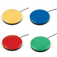 Seriously a classic.  Big Buddy Button   Rapid Assist Technology