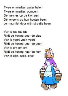 Dutch Language, Kids Songs, My Children, Kids Learning, Childhood Memories, Feel Good, Holland, Disney Films, Lyrics