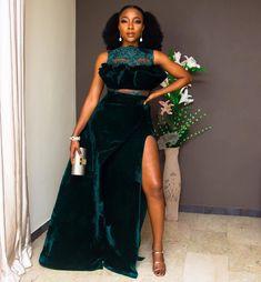 First Look! Rita Dominic, Ebuka Obi-Uchendu, Mimi Onalaja, Ini Dima-Okojie at The Future Awards Africa 2017 African Lace Dresses, African Wedding Dress, Latest African Fashion Dresses, African Outfits, Event Dresses, Nice Dresses, Long Dresses, Stunning Dresses, Prom Dresses