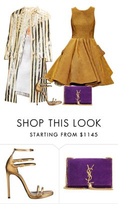 """""""Untitled #3151"""" by teastylef ❤ liked on Polyvore featuring Prada and Yves Saint Laurent"""