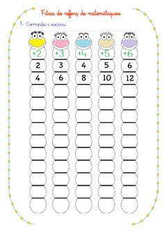 Math Addition Worksheets, Kindergarten Math Worksheets, Teaching Math, Math Activities, Math Charts, Montessori Math, First Grade Math, Math For Kids, Math Lessons