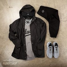 Outfit grid - Neat on the street Look Fashion, Urban Fashion, Mens Fashion, Outfit Grid, Hot Outfits, Casual Outfits, Fashion Outfits, Style Casual, Casual Wear