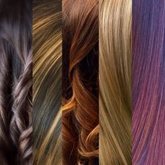We can be any & every hair color we want, but what color looks best on you.