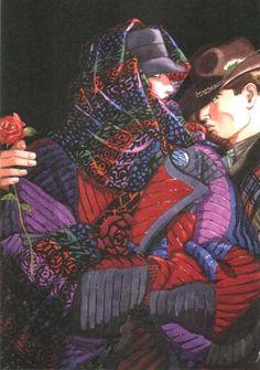 ANTONIO LOPEZ (1943-1987 Puerto Rican fashion illustrator) pour MISSONI