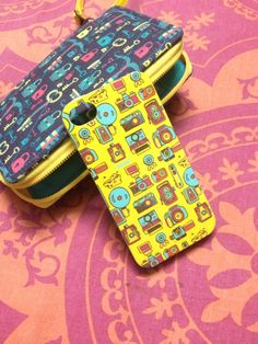 Chumbak phone cover and wallet