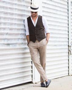 Le pantalon lin homme, ce compagnon estival idéal