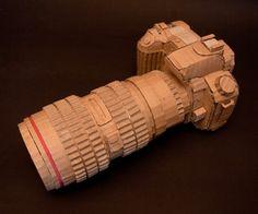 cardboard camera, Mark O'brien
