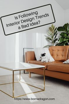 Interior design trends can give your home a fresher look, but they come with a bigger price tag. Learn the reasons why following design trends are never practical. Interior Ideas, Interior And Exterior, Interior Design, Apricot Tart, Latest Design Trends, Home Trends, Diy Home Decor Projects, Home Decor Store, New Furniture