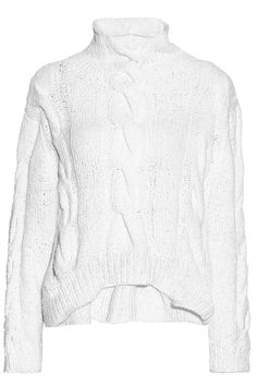 Cable-knit Pima cotton turtleneck sweater   IRO   Sale up to 70% off   THE OUTNET