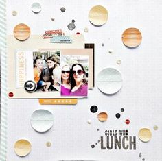Girls who lunch by Leah at Studio Calico