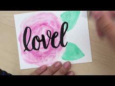 Cardmaking - Have a lovely day!