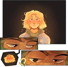 """Halfborn leaned toward me. """"There's no shame in being attracted, Magnus."""" I choked on a piece of feast beast. No, I wasn't—"""" """"Staring? Arte Percy Jackson, Percy Jackson Ships, Percy Jackson Memes, Percy Jackson Fandom, Magnus Chase, Rick Riordan Series, Rick Riordan Books, Alex Fierro, Oncle Rick"""