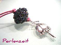 Helinchen Beaded Bead - freie Anleitung/Freebie von Perlenzeit