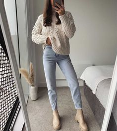Winter Fashion Outfits, Fall Winter Outfits, Look Fashion, Autumn Fashion, Summer Outfits, Casual College Outfits, Cute Casual Outfits, Mode Outfits, Mode Style