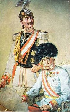 Kaiser Franz Josef I. The German & the Austrian Emperor Wilhelm Ii, Kaiser Wilhelm, Franz Josef I, World History Classroom, Soldier Costume, Frederick William, Family World, Austro Hungarian, Military Pictures