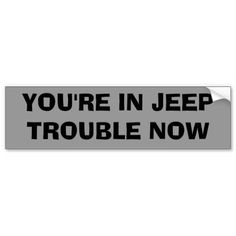 Get stuck in traffic with fun thanks to Off Road bumper stickers or car magnets from Zazzle! Custom car magnets and stickers that stand out! Jeep Wrangler Stickers, Jeep Stickers, Jeep Decals, Bumper Stickers, Jeep Humor, Jeep Funny, Off Road Bumpers, Rock Sign, Dad Rocks