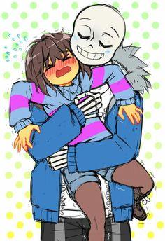 A Sans hug!~