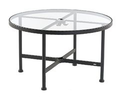 SIFAS in-outdoor living furniture : Collection KROSS (table cocktail avec plateau verre / cocktail table incl. glass top)