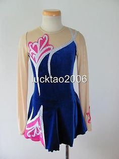 Ice skating dress for the next competition.