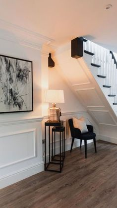 Inside the home of… Lydia Elise Millen - Peacock. Lydia Elise Millen, Townhouse Interior, London Townhouse, New Staircase, Staircase In Living Room, Staircases, Design Living Room, Hallway Designs, House Stairs