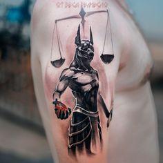 Body Art Tattoos, Cool Tattoos, Tatoos, Tattoo Sleeve Designs, Sleeve Tattoos, Anubis Tattoo, Brust Tattoo, Libra Tattoo, Religious Tattoos