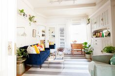 Weekend Room Refresh   Oh Happy Day! - I love the decor and there are some really good tips here too!