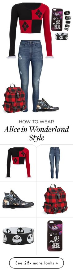 """""""Mad"""" by blackveilbridesbvbsixx on Polyvore featuring H&M, Converse, Aéropostale and Disney"""