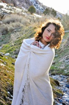 i would love to live in the mountains. my vintage photoshoot