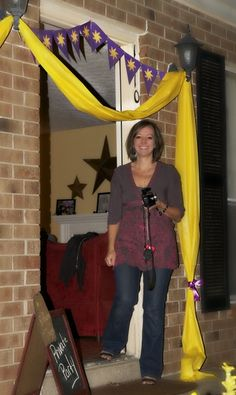 "Photo 1 of 44: Rapunzel Disney's Tangled Inspired / Birthday ""Tangled Up In Fun!"" 