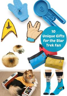 Can you believe that the first episodes of Star Trek debuted almost 50 years ago? A lot has happened since James T. Kirk took lead of a new crew and the helm of Starship Enterprise, boldly going where no man had gone before. And, the amount of merchandise that has been created is mind boggling. Take a look as eBay shares some of the most unique gift ideas for the die-hard Trekkie in your life.