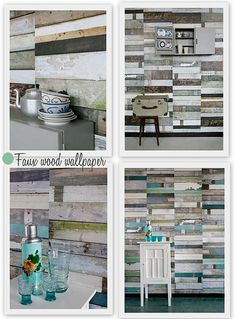 8 trends you'll love - wood and faux wood. Studio Ditte by decor8, via Flickr