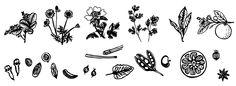 Grafische Umsetzung der Erlebniswelt bei Destillierie Bauer Portfolio, Illustration, Design, Illustrations