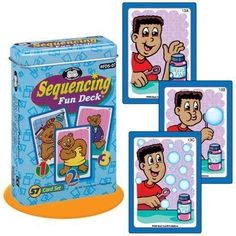 Sequencing Fun Deck Cards  Super Duper Educational Learning Toy for Kids *** Want to know more, click on the image.Note:It is affiliate link to Amazon.