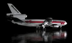 Western Airlines DC-10 Model