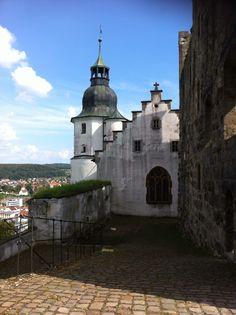 Burg Hellenstein Heidenheim Germany.