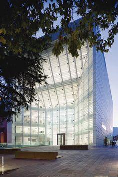 Museion | Museum of Modern Art in Bolzano, Italy by Krüger Schuberth Vandreike (KSV) Architecture