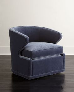 Dyna+St.+Clair+Swivel+Chair+at+Horchow.