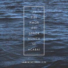 S é que no hemos sido destruidos porque Dios nos tiene compasión. Lamentaciones 3:22 TLA