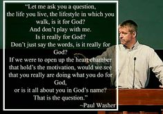 christian quotes | Paul Washer quotes | motive | God's glory Christian Life, Christian Quotes, Paul Washer Quotes, Acts 7, Mighty To Save, Gods Glory, T Play, Speak The Truth, The Life